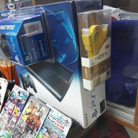 Ps3 (brand new) for trade on gaming pc or laptop تبادل بلاي ستايشن