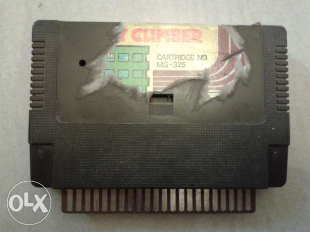 vintage crazy climber video game cartridge
