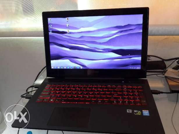 Lenovo Y50-70 laptop Intel core i7 16 Gb memory 2.5 GHZ NVIDIA GeForce