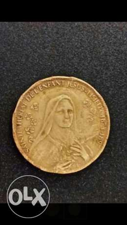Sainte theres1874 bronze medal france