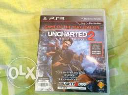 UNCHARTED 2 game of the year edition Codes Never Used