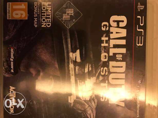 ps3 call of duty ghosts ضبيه -  1