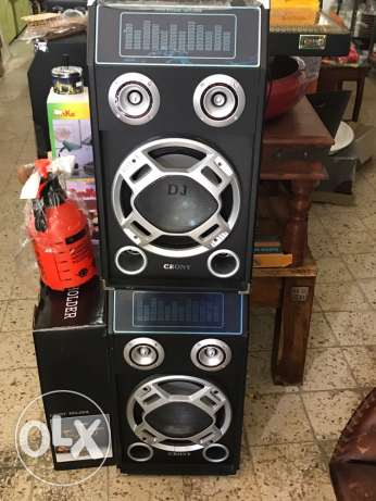 speaker and super karaoke 1000w