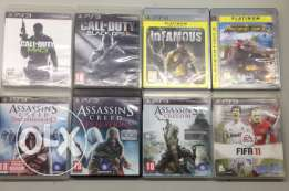 PS3 games all for 100$ special offer