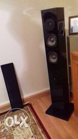 2brand new NHT profesional speakers MADE IN USA+power victor set japan