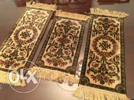 set of 3 nappes 7arir silk chal7a lal tawle 85 cm