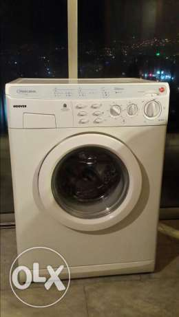 Washer Hoover super clean