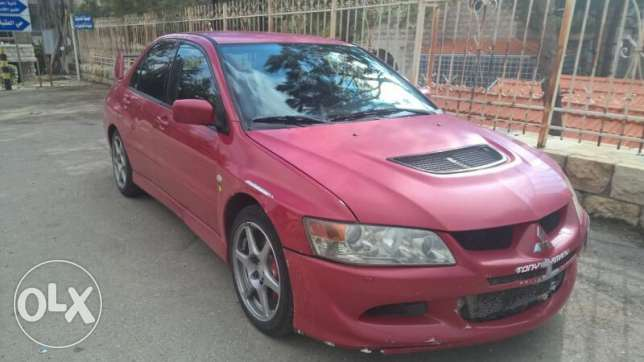 Mitsubishi Evolution 8 GSR