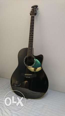 Acoustic Guitar, Ovation Applause, Black سن الفيل -  2