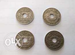old 1 piastre son coins, 3emle 2adime, price according to ngccoin US