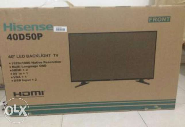 For sale led hisense 40""