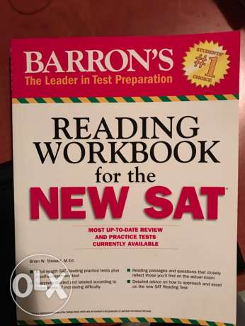 SAT reading workbook مار الياس -  1