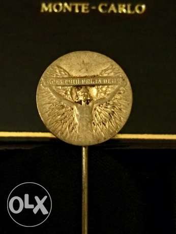 Rare René Lalique tie pin for World War One French heroes, c. 1915