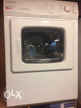 campomatic dryer 9kg with 1 yr warranty NEW