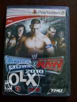Smackdown vs Raw 2010 PS2 Game