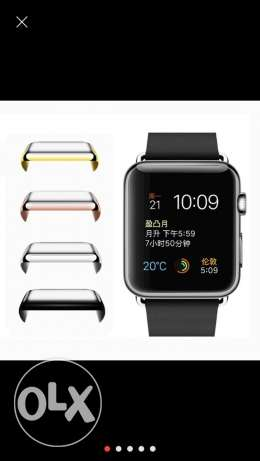 Apple watch screen protector 42mm gold