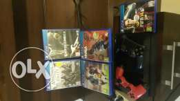 Ps4 ( 2 controllers, 5games, hdmi)