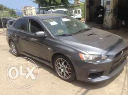 Mitsubishi Evo 10 very good condition !