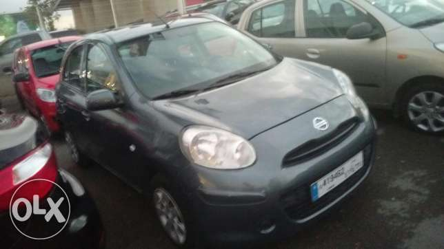 Nissan micra 2013 fully loaded 41000 km انطلياس -  3