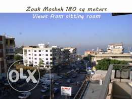 Zouk Mosbeh 180 sqm open views good location
