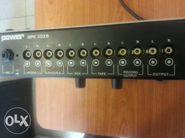 Music Mixer Home Stereo