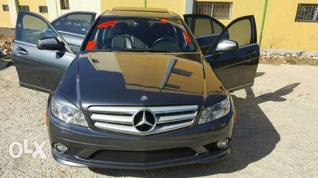 Benz C300 Model 2008 Lock AMG Grey أجنبية