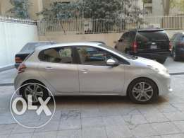 .Peugeot 208 Model 2013 Lebanese. Single Owner Excellent Cond.19000km