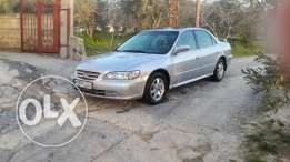 Honda accord 4 cylinder model 2001 5ar2a