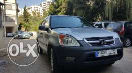 crv ex 4x4 2002 for sale in very good conditions