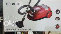 Silver Vacuum Cleaner 2200W silent. (Brand new)