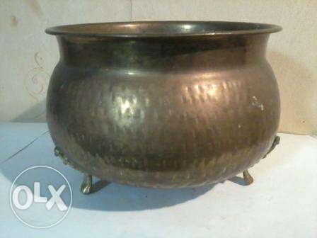 Old copper stove, manqal almani, nohas mzakhraf, 30x30cm, from Germany
