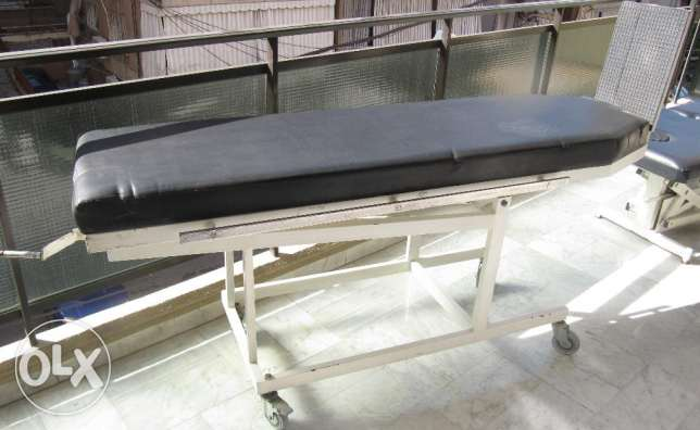 Medical Health Physiotherapy inclined bed Physiothérapie plan incliné