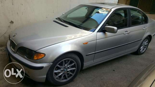 Bmw 325i 2002 for sale سن الفيل -  1