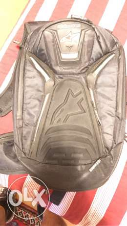 alpine star backpack for motorcycle