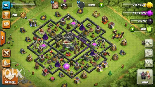 Clach of clans 9