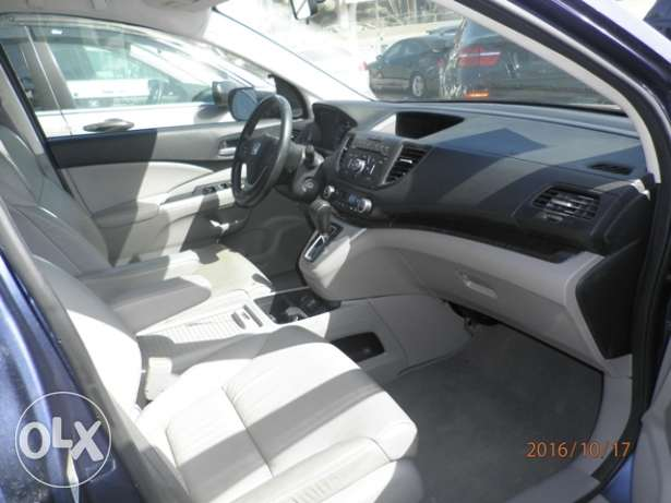 Honda CRV EXL 2012 dark blue clean كسروان -  5