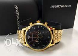 the new 2017 Gold plated Armani watch for gentelmen
