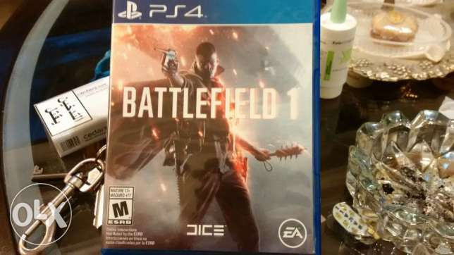 Play station game battle field 1