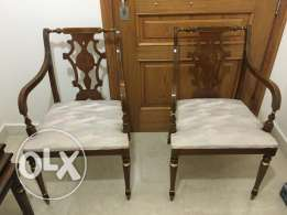 2 chairs for living room, salon or entrance