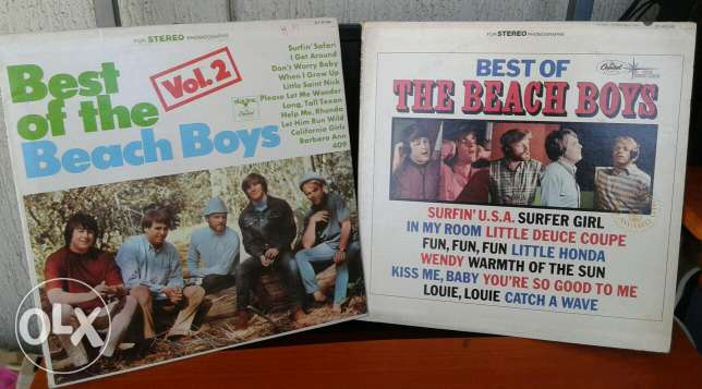 Beach Boys Vinyl records