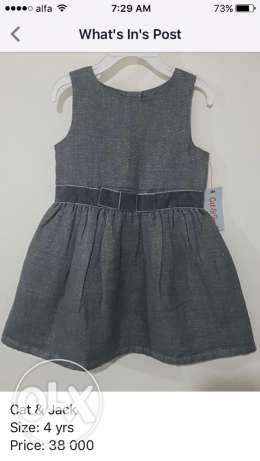 Cat&Jack dress, size: 4yrs