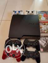 PS3 perfect condition with 6 controlers and 12 game