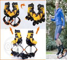 2 In 1 Roller Skate And Kangaroo Jump Shoes