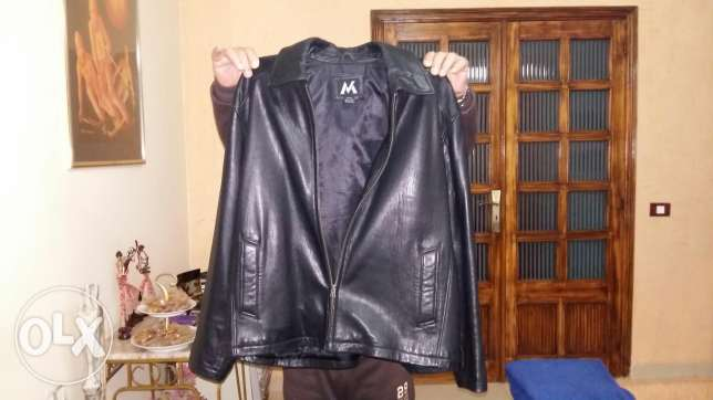 Jacket casaque real leather