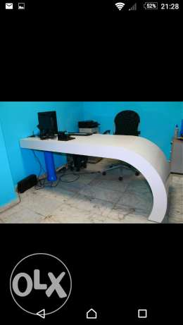 Table reception desk