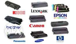 Toner hp , lexmark , canon , brother