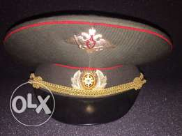 russian security forces visor cap