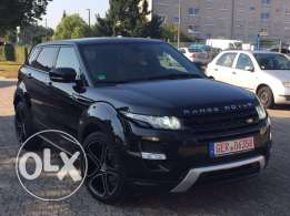 Range Rover Evoque Dynamic 2013 black on red , GERMAN !!! TOP TOP !!!