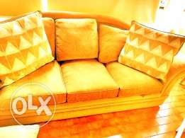 3 Seaters Plein Tissus Sofa for sale
