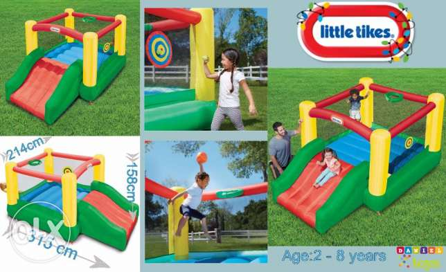 Dunk 'n Toss Bouncer™ for only 299$ brand new